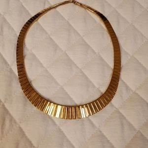 Real Gold Plated Choker